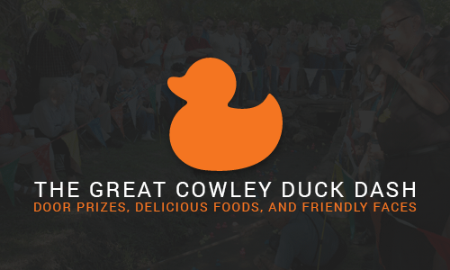 The Great Cowley Duck Dash