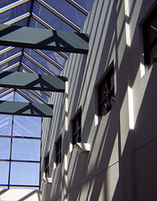 Brown Center Atrium at Cowley College