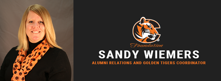 Sandy Wiemers, Alumni Relations and Golden Tigers Coordinator