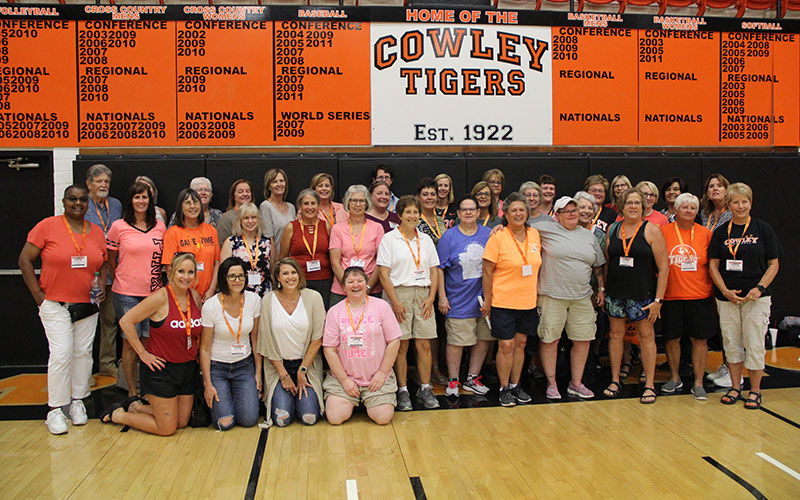 Former athletes of Linda Hargrove return for Tigress Tough alumni reunion