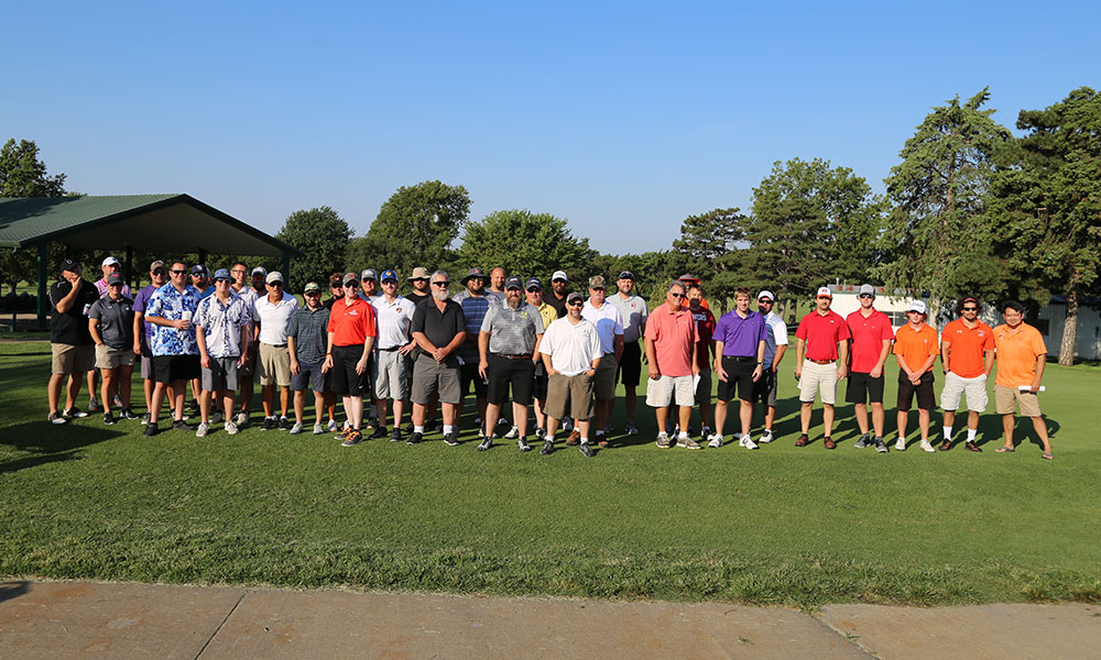Competitors at the 2019 Tri County Tiger Classic Golf Scramble